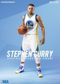 "Stephen Curry (Golden State Warriors) 1/9th Scale 8"" Action Figure Enterbay"