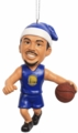 Stephen Curry (Golden State Warriors) Forever Collectibles NBA Player Elf Ornament