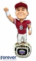 Steve Young (San Francisco 49ers) 1994 Super Bowl Championship Ring Base NFL Bobblehead Exclusive #/750