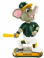 Stomper (Oakland Athletics) Mascot 2017 MLB Headline Bobble Head by Forever Collectibles