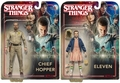 """Eleven & Chief Hopper (Stranger Things) Set  of 2 McFarlane 7"""" Action Figures"""