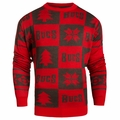 Tampa Bay Buccaneers 2016 Patches NFL Ugly Crew Neck Sweater by Forever Collectibles