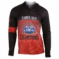 Tampa Bay Buccaneers Super Bowl XXXVII Champions Poly Hoody Tee