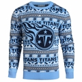 Tennessee Titans NFL Aztec Ugly Crew Neck Sweaters by Forever Collectibles