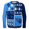 Tennessee Titans NFL Ugly Sweater Busy Block
