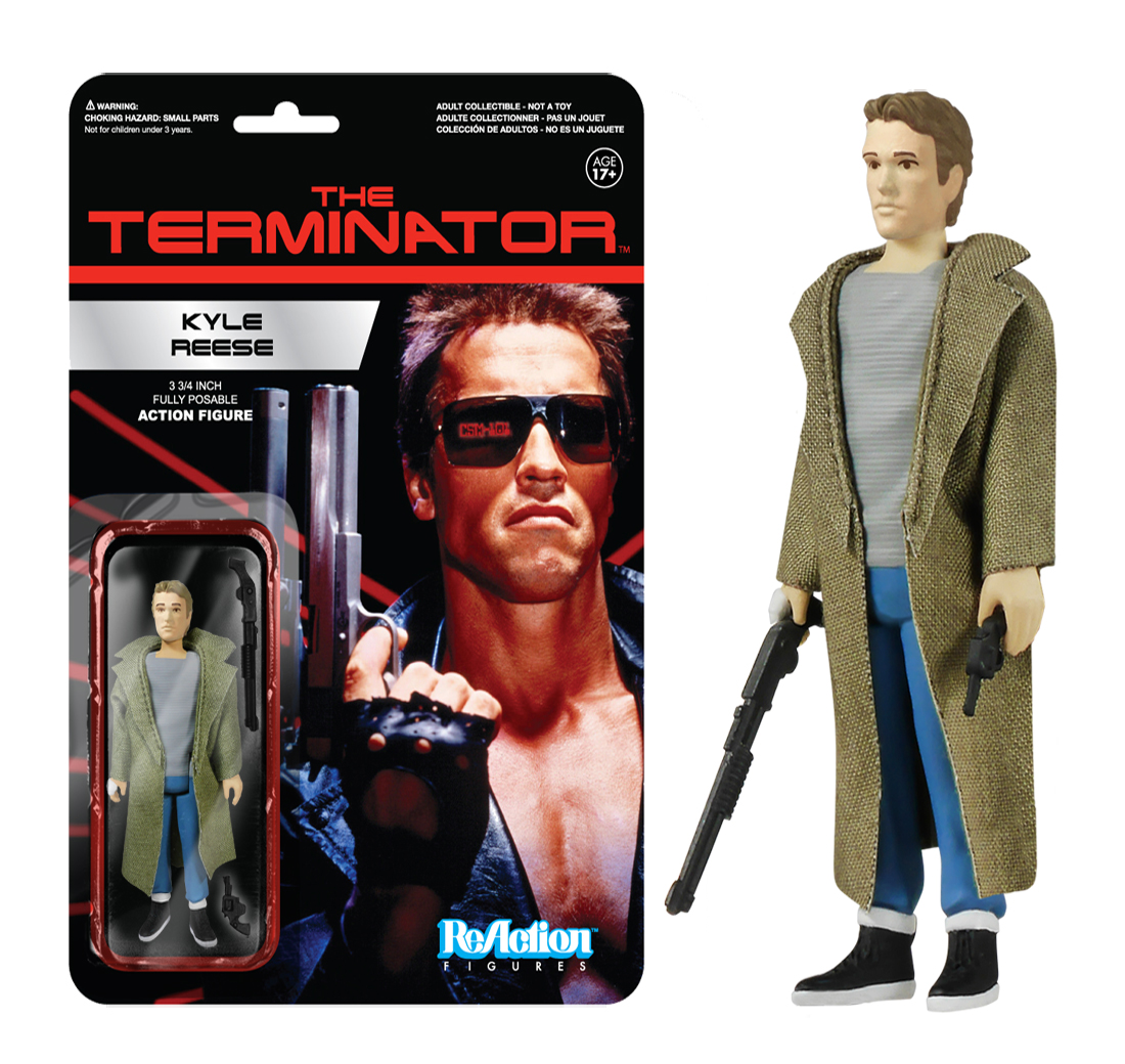 Kyle Reese The Terminator Reaction 3 3 4 Inch Retro