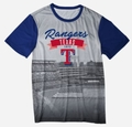 Texas Rangers Outfield Photo Tee by Forever Collectibles