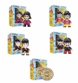 The Beatles Sgt. Pepper's Lonely Hearts Club Band Complete Set (5) Titan Vinyls