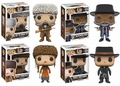 The Hateful Eight Funko Pop! Complete Set of 4