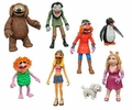 The Muppets Series 3 Complete Set (3) Action Figure 2-Packs Diamond Select Toys