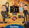 The Walking Dead Bobbleheads by Royal Bobbles