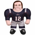 "Tom Brady (New England Patriots) 24"" NFL Plush Studds by Forever Collectibles"