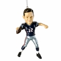 Tom Brady (New England Patriots) Forever Collectibles NFL Player Ornament