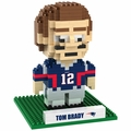 Tom Brady (New England Patriots) NFL 3D Player BRXLZ Puzzle By Forever Collectibles