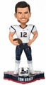Tom Brady (New England Patriots) Super Bowl Champions Bobblehead by Forever Collectibles