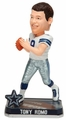 Tony Romo (Dallas Cowboys) Forever Collectibles 2014 NFL Springy Logo Base Bobblehead