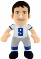 "Tony Romo (White Jersey) (Dallas Cowboys) 10"" NFL Player Plush Bleacher Creatures"