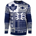 Toronto Maple Leafs NHL Patches Ugly Sweater by Klew