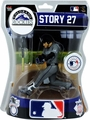 "Trevor Story (Colorado Rockies) 2017 MLB 6"" Figure Imports Dragon"
