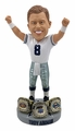 Troy Aikman (Dallas Cowboys) 3X Championship Rings Base NFL Bobblehead Exclusive #/750