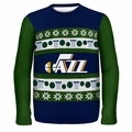 Utah Jazz NBA Ugly Sweater Wordmark