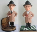 Vince Lombardi (Green Bay Packers) NFL Bobble Heads Set (2) Forever #/1968