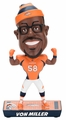 Von Miller (Denver Broncos) 2017 NFL Caricature Bobble Head by Forever Collectibles