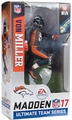 Von Miller (Denver Broncos - All Blue Alternate) EA Sports Madden NFL 17 Ultimate Team Series 2 McFarlane CHASE