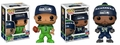 Wagner/Wilson (Seattle Seahawks) NFL Funko Pop! Series 4 Combo