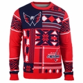Washington Capitals NHL Patches Ugly Sweater by Klew