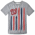 Washington Nationals Big Logo Flag Tee by Forever Collectibles