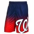 Washington Nationals MLB Gradient Polyester Shorts By Forever Collectibles