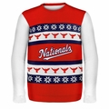 Washington Nationals MLB Ugly Sweater Wordmark