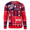 Washington Nationals Patches MLB Ugly Sweater by Klew