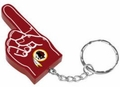 Washington Redskins #1 Foam Finger Keychain