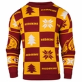 Washington Redskins 2016 Patches NFL Ugly Crew Neck Sweater by Forever Collectibles