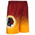 Washington Redskins NFL 2016 Gradient Polyester Shorts By Forever Collectibles