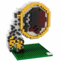 Washington Redskins NFL 3D Logo BRXLZ Puzzle By Forever Collectibles