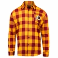 Washington Redskins NFL Checkered Men's Long Sleeve Flannel Shirt