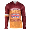 Washington Redskins Super Bowl XVII Champions Poly Hoody Tee