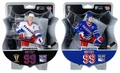 "Wayne Gretzky (New York Rangers)  Blue Jersey PLUS White Jersey Exclusive 2017-18 NHL Legends 6"" Figure Imports Dragon Combo (2)"