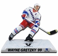 """Wayne Gretzky (New York Rangers) White Jersey Limited Edition Exclusive 2017-18 NHL Legend 6"""" Figure Imports Dragon ONLY 950"""