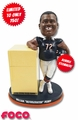 "William ""Refrigerator"" Perry (Chicago Bears) Fridge & Bobble Stomach Bobblehead Exclusive #750"
