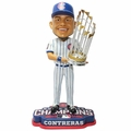 Willson Contreras (Chicago Cubs) 2016 World Series Champions Bobble Head by Forever Collectibles