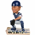 Willson Contreras (Chicago Cubs) 2016 World Series Champions Newspaper Base Bobble Head by Forever Collectibles