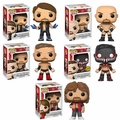 WWE Complete Set w/CHASE (5) Funko Pop! Series 3