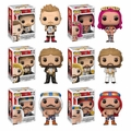 WWE Series 6 Complete Set W/CHASE (6) Funko Pop!