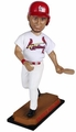 """Yadier Molina (St. Louis Cardinals) 2015 MLB Real Jersey 10"""" Bobble Heads Forever Collectibles"""