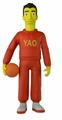 "Yao Ming (The Simpsons 25th Anniversary) 5"" Action Figure Series 1 NECA"