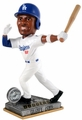 Yasiel Puig (Los Angeles Dodgers) 2015 Springy Logo Action Bobble Head Forever Collectibles